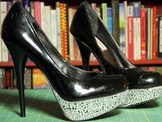 DIY Shoe Bling - YouTube