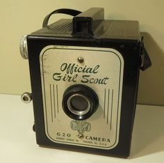 Girl Scout Camera Vintage Official Made in USA - I have this one. :)