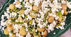 Örtlax och ljummen potatissallad med sparris   Recept från Köket.se
