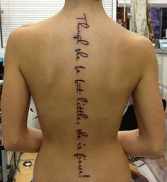 "Shakespeare- ""though she be but little, she is fierce."" lol im actually getting this tattoo...just not in that font or placement- sooo big. i want it small"