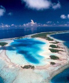 Blue Lagoon Rangiroa French Polynesia