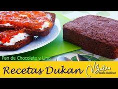 Pan Dukan de Chocolate y Lino dorado (linaza) | Recetas Dukan Maria Martinez