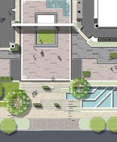 Landscape Commercial Plaza ( Arch. M_oplado 2015/ metrostudio)