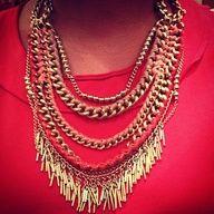 Stella & Dot Carmen Fringe Necklace