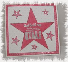 Among The Stars - created using the Wordage range from Bee Crafty