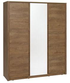 Dulap VEDDE 3 usi oglindă stejar sălbati | JYSK