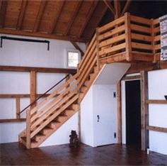 loft railing and staircase railing. great for kids.