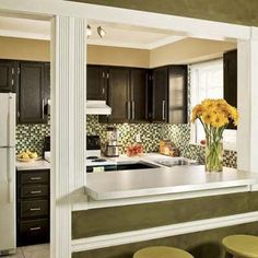 budget kitchen ideas small home looks like a million bucks the 967 kitchen remodel this old house Old Kitchen, Kitchen On A Budget, Kitchen Redo, Cheap Kitchen, Kitchen Pass, 1950s Kitchen, Narrow Kitchen, Kitchen Small, Vintage Kitchen