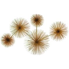 Curtis Jere Urchin Wall Sculpture | From a unique collection of antique and modern wall-mounted sculptures at https://www.1stdibs.com/furniture/wall-decorations/wall-mounted-sculptures/