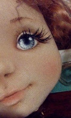 Фотография Doll Face Paint, Doll Painting, Ragdoll Doll, Girl Dolls, Baby Dolls, Baby Eyes, Doll Eyes, Soft Dolls, Soft Sculpture