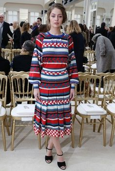 awesome Chanel : Front Row - Paris Fashion Week Womenswear Fall/Winter 2016/2017 Celebrity Style Check more at http://pinfashion.top/pin/61405/