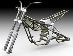 Motorcycle Frame Design