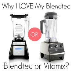 Why I Love My Blendtec: Blendtec vs. Vitamix - Tried and Tasty