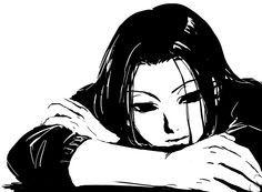 Illumi Zoldyck ~ HunterXHunter ~ Hunter x Hunter ~ HxH ~ Zoldyck Family ~ Anime ~ Black and White