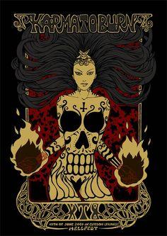 KARMA TO BURN Live Hellfest