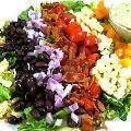 Mexican Style Cobb Salad, So Deliciously Satisfying and Low in Calories with 8 Weight Watchers Points | Skinny Kitchen