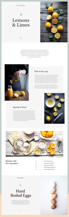 Ingredient Details — Cooking Website designed by Marko Cvijetic. Connect with them on Dribbble; the global community for designers and creative professionals. Web Design Trends, Web Design Tips, App Design, Branding Design, Mobile Design, Flat Design, Layout Design, Web Layout, Website Layout