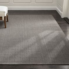 Sisal Grey Rug | Crate and Barrel