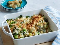 Ina's Best-Ever Broccoli Gratin. Substitute almond meal and an egg for even fewer carbs.