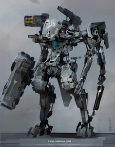 ArtStation - Mech, CAPTOON (Lee InSu