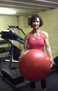 There is nothing like stability ball exercises to increase core strength, balance and overall strength.  Try this great stability workout today https://www.youtube.com/watch?v=NjbFTL_3W9o