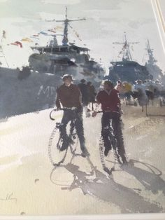 John Yardley Original Signed Watercolour Painting with Provenance | eBay