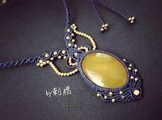 王冕`铜珠包石头项链