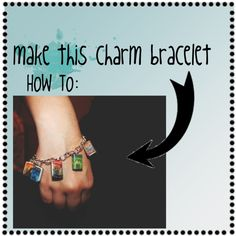 01. How To: make a Harry Potter charm bracelet., created by majelle on Polyvore