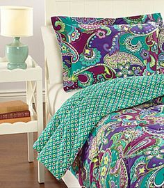 Vera Bradley Comforter in Heather - Wish they would make Vera for kings size beds!!