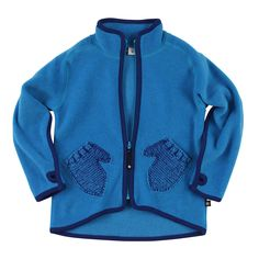 Ushi Fleece Jacket/Electric Blue