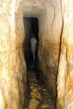 Hezekiah's Tunnel, or the Siloam Tunnel (Hebrew: נִקְבַּת השילוח‎, Nikbat HaShiloah) is a tunnel that was dug underneath the City of David in Jerusalem before 701 BC during the reign of Hezekiah of Judah. The tunnel is mentioned in 2 Kings 20:20 in the Bible.   http://www.youtube.com/watch?v=boC7lOV-1PU