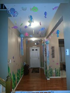 Little Mermaid/Under the sea birthday party