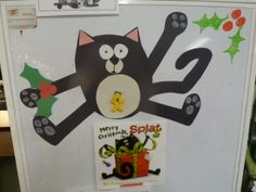 Love this splat the cat...wonder how I can incorporate writing!