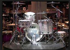 Crystalroc DW drum kit.