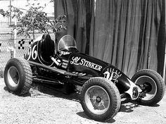 "the ""Li'l Stinker"". Vintage Auto, Vintage Racing, Vintage Cars, Dirt Track Racing, Auto Racing, Old Race Cars, Sprint Cars, Vroom Vroom, Hot Cars"