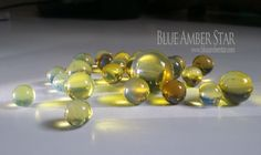 blue amber beads - Directly from Dominican Republic.