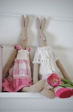 Pastel Maileg Easter Bunnies
