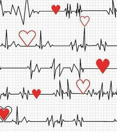 Calling All Nurses - Heart Beat EKG in White - Cotton Quilt Fabric - Whistler Studios for Windham Fabrics Heartbeat Monitor, In A Heartbeat, All Nurses, Medical Symbols, Windham Fabrics, Black Fabric, Fabric Crafts, Fabric Design, Sewing Projects