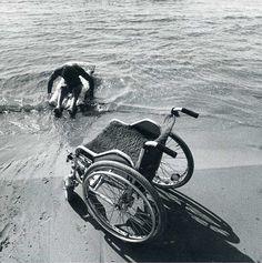 FREEDOM  handicapped swimmer..