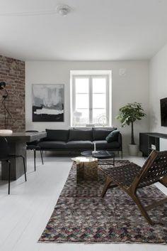Skandinávie každým coulem: domov hudebního skladatele z Helsinek | Insidecor - Design jako životní styl Living Area, Living Spaces, Work Spaces, Sunday Pictures, Interior Inspiration, Design Inspiration, Cool Apartments, Design Agency, Helsinki