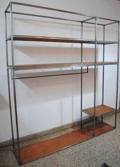 Vestidor, Ropero, Placard, Perchero, Estilo Industrial - $ 8.200,00