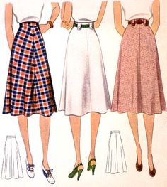 Pattern ID: 49158 Pattern Company: MCCALL Pattern #: 3606 Archive Number: 1940.110.URI Collection: University of Rhode Island Year: 1940 Description: MISSES SKIRT