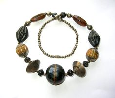 Vintage 80s Bohemian Necklace  Tribal Necklace  by 2VintageGypsies, $20.00