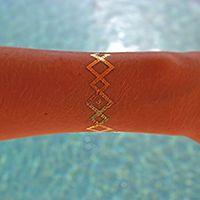 Gold Tribal Bracelet Trendy body jewelry #tattoos