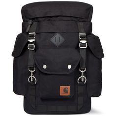 Black Files Backpack by Carhartt WIP