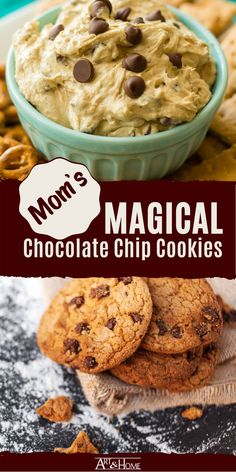 Chocolate Macadamia Nuts, White Chocolate Chips, Cereal Recipes, Cookie Recipes, Healthy Chocolate Chip Cookies, Wonderful Recipe, Secret Recipe, Recipe For Mom, Delicious Chocolate