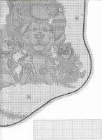 Gallery.ru / Фото #4 - 47 - IannaD Cross Stitch Christmas Stockings, Xmas Stockings, Christmas Cross, Tree Toppers, Cross Stitch Patterns, Alphabet, Crochet, Elsa, Gallery