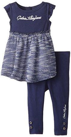 Calvin Klein Baby-Girls Infant Navy Tunic with Leggings, Navy, 12 Months Calvin Klein http://www.amazon.com/dp/B00NVENUO0/ref=cm_sw_r_pi_dp_P-8Zub006J7YN