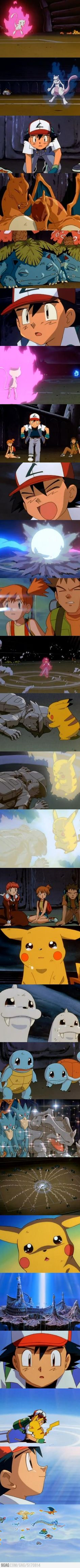 The saddest moment of my childhood - Pokèmon Movie - I still cry at this scene