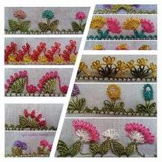 Needle Lace The moment Ifirst laid eyes on oya needlework was not as profound as one might imagine. Wool Embroidery, Silk Ribbon Embroidery, Embroidery Stitches, Embroidery Patterns, Needle Tatting, Needle Lace, Crochet Flowers, Crochet Lace, Crazy Quilt Stitches